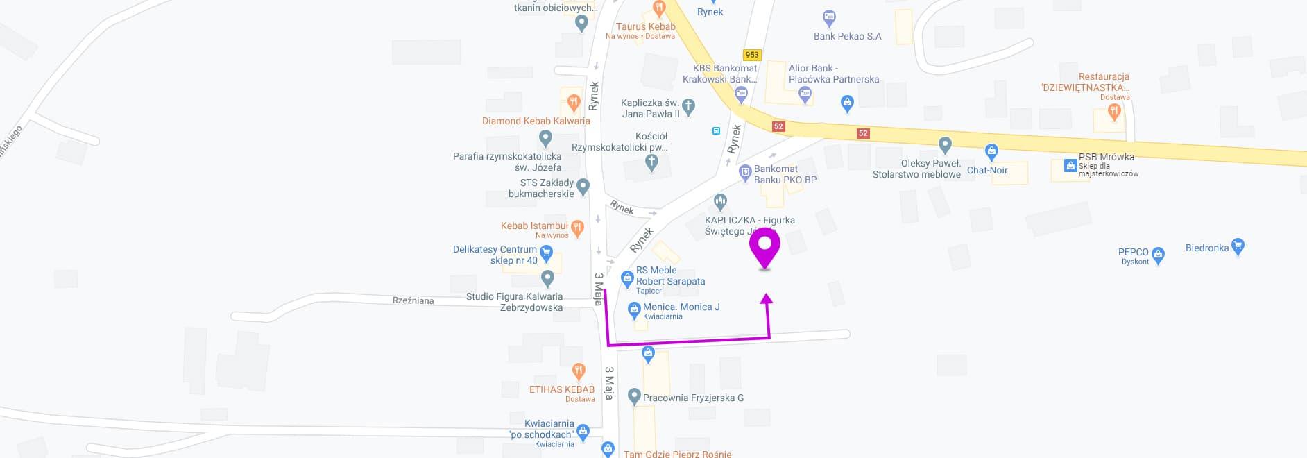 mapa Impuls